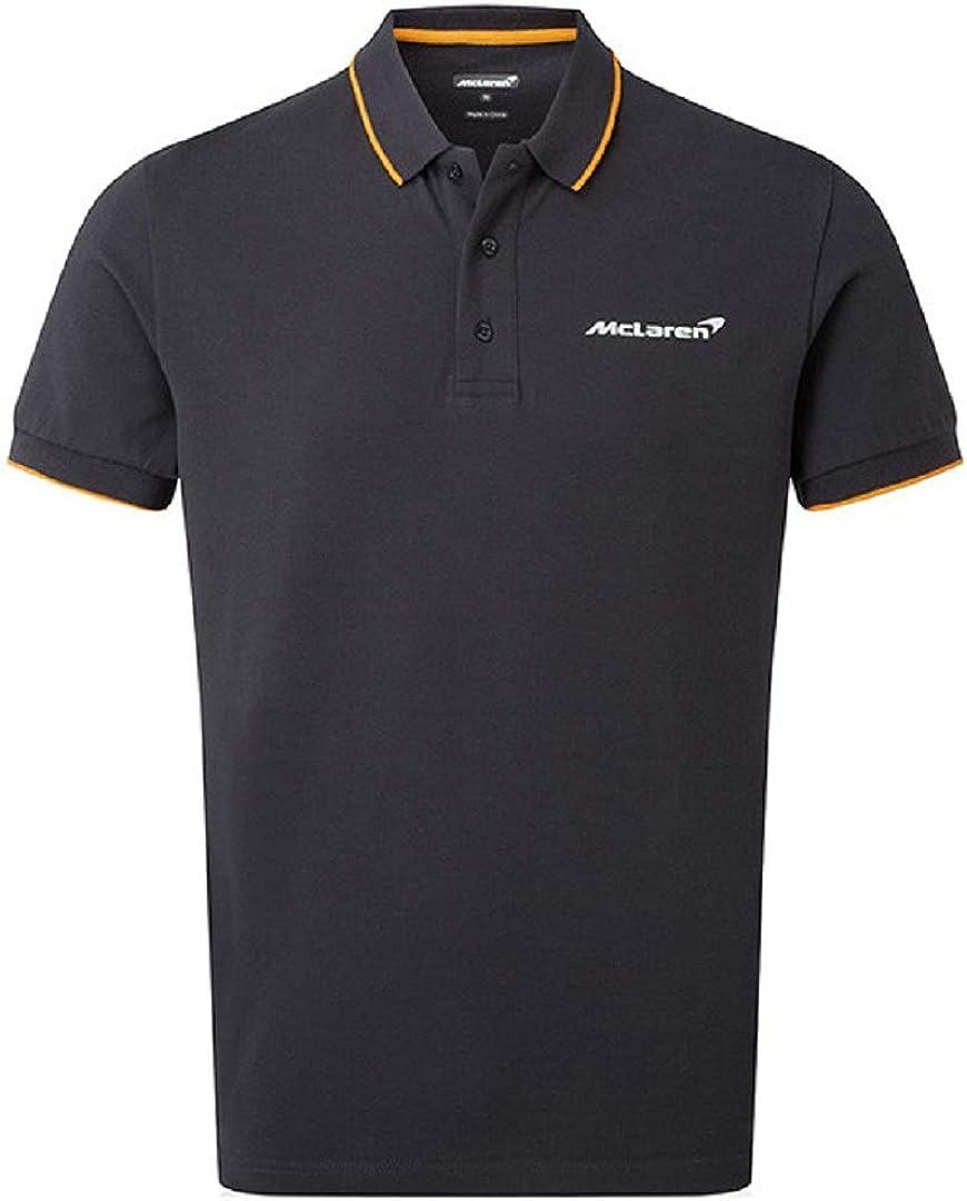 McLaren Essentials Gray Logo Polo