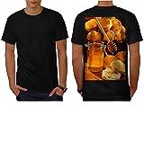 Jar of Bee Honey Hard Cheese Men NEW S-5XL T-shirt Back | Wellcoda