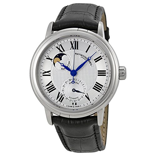 raymond-weil-mens-2839-stc-00659-maestro-silver-dial-watch