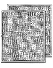 Aluminum Replacement Range Hood Filter 9-7/8 x 11-11/16 x 3/8 (2-Pack)