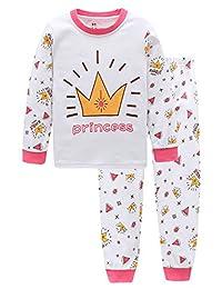Unisex Baby 2 Piece Pajama Set -100% Cotton Soft and Comfy Sleeper