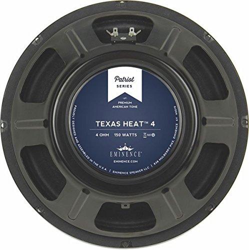 EMINENCE TEXASHEAT4 12-Inch Lead/Rhythm Guitar - 4 Guitar Ohm Speaker