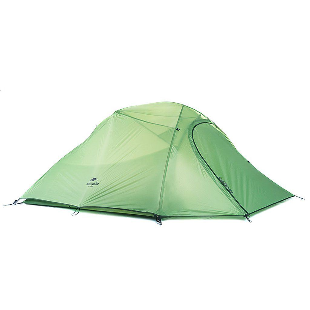 PIGE Outdoor 3-4 Personen Zelt Klettern Camping Aluminium Ruten Vier Jahreszeiten Double Layer Regenschauer
