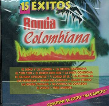Ronda Colombiana - Ronda Colombiana (15 Exitos) Rc-100 - Amazon.com Music