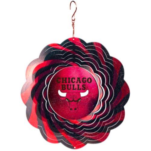 NBA Chicago Bulls 10'' Geo Wind Spinner ()