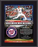 "Max Scherzer Washington Nationals 10.5"" x 13"" 20 Strikeouts Vs Tigers Collage Sublimated Plaque - Fanatics Authentic Certified"