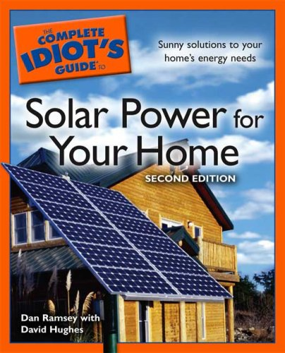 Complete Idiots Guide Solar Power