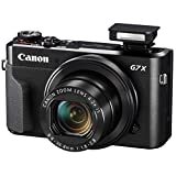 Canon PowerShot G7 X Mark II Digital Camera Video Creator Kit + SanDisk 32GB Card + Deluxe Camera Case + Digital Compact LED Video Light + USB Card Reader + Tri-Fold Card Wallet + Ultimate Video Kit