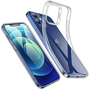 ESR Coque Compatible avec iPhone 6.1 Pouces 12 et 12 Pro, Housse de Protection en TPU Souple, Mince et Limpide…
