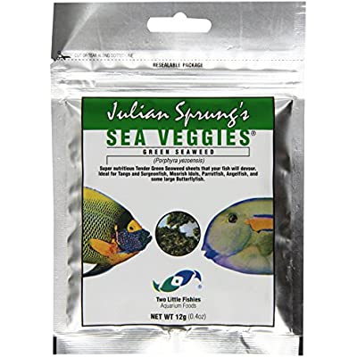 Click for Two Little Fishies ATLSVGS2 Sea Veg-Green Seaweed, 0.4-Ounce