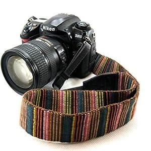 Mavota Adjustable Colorful Strape Spot Camera Strap Shoulder Neck Camera Belt For Canon Nikon Olympus Panasonic Pentax Sony Fuji DSLR SLR Mirrorless Camera