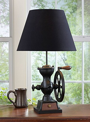 Park Designs Coffee Grinder Lamp with Shade
