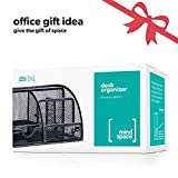 Mindspace Office Desk Organizer with 6 Compartments + Drawer | The...