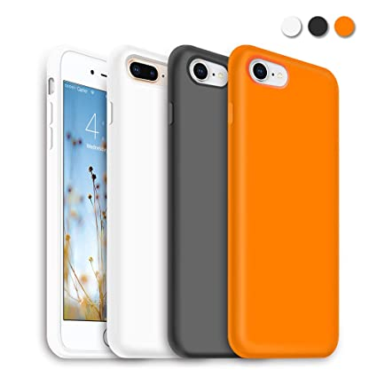 Amazon.com: Funda delgada para iPhone 8 Plus, iPhone 7 Plus ...