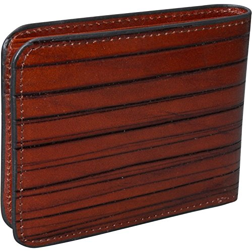 Wallet Leather Monserrate Jack in Cognac Georges Fold Bi Collection 1c4vqp
