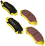 EBC Brakes DP41743R Yellowstuff Street and Track Brake Pad