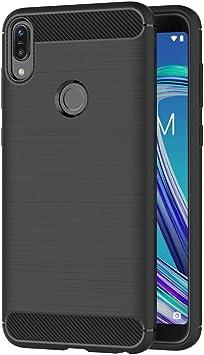 AICEK Funda Compatible ASUS Zenfone MAX Pro (M1) ZB601KL, Negro ...