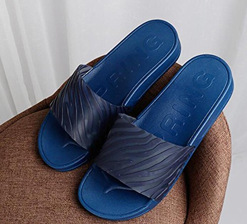 shoes Summer home comfortable stripes on new leisure word drag sand slippers daily 39 cool 2 simple couple the ZqAxZwErH
