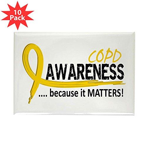 CafePress - Awareness 2 COPD - Rectangle Magnet, 2