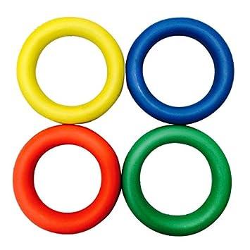 Carta Sport Juego de 4 Anillos de Colores de Espuma, diseño ...