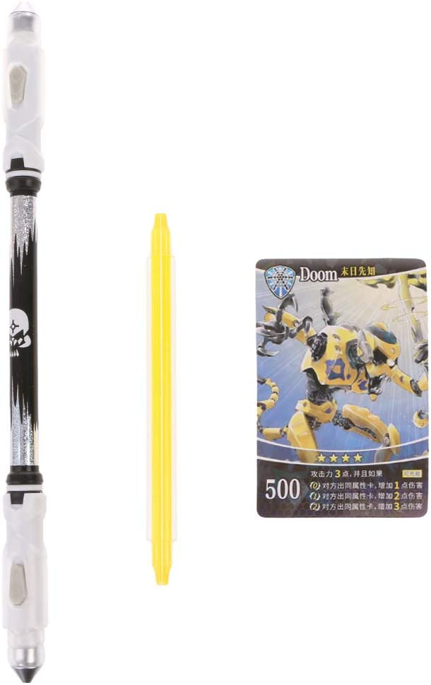 niumanery LED Glowing Spinning Pen Ballpoint Marker Pens Rotate To ...