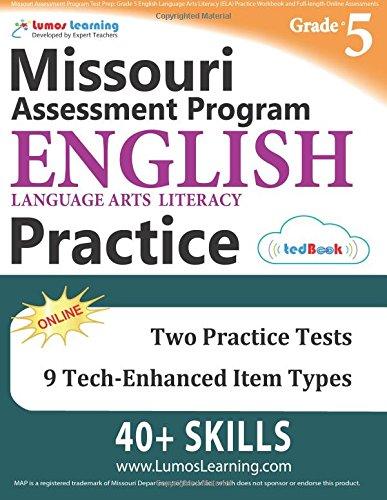 Missouri Assessment Program Test Prep: Grade 5 English Language ...