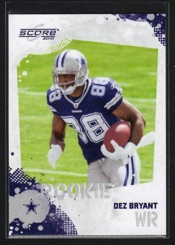 Amazon Com Dez Bryant Rc Dallas Cowboys Rc Rookie Card