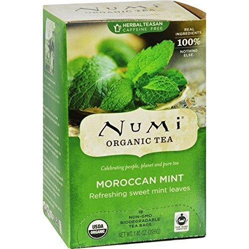 Numi Tea Herb Tea Og2 Morocn Mint 18 Bag by Numi