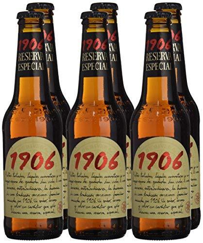 1906 Reserva Especial Cerveza - Pack de 6 x 33 cl - Total ...