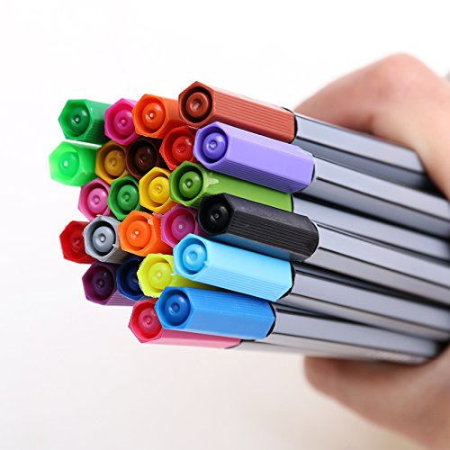 Colorful Pen Art Fine Professional Watercolor Pens Art Office Painting by Office & School Supplies YingYing (Image #5)