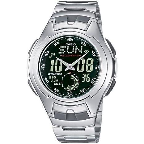 8ea4779d418e CASIO Collection AQ-160WD-1BVEF - Reloj de Caballero de Cuarzo ...