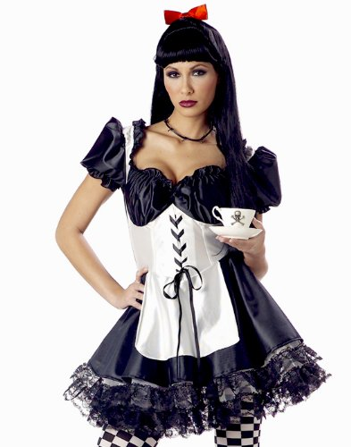 California Costumes Women's Malice In Wonderland Alice S Black -