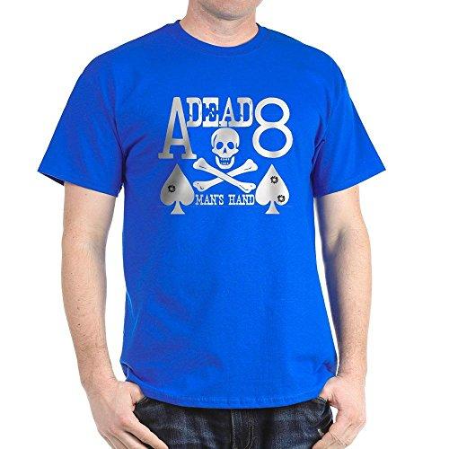 CafePress Dead Man's Hand Poker 100% Cotton T-Shirt