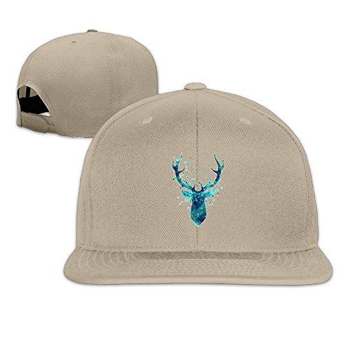 fan products of Antonia Surrey Christmas Elk Love Basketball Baseball Cap Stretch Fit Cap Optimum Cap Classic Unisex Baseball Cap Clean Up Adjustable Hat Natural