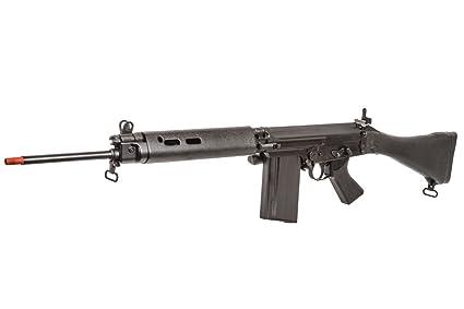 Amazon com : ARES L1A1 SLR Battle AEG Airsoft Rifle (Black