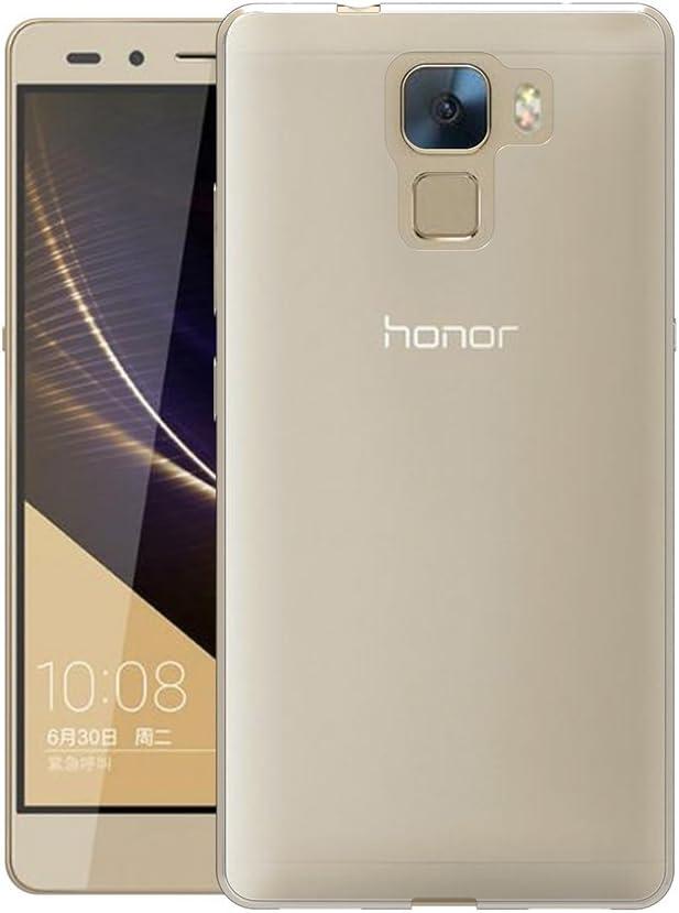 AICEK Funda Honor 7, Huawei Honor 7 Funda Transparente Gel ...