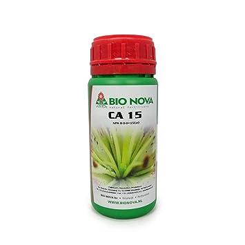 Aditivo para el Cultivo de Bio Nova Ca 15% Calcio (250ml): Amazon.es: Jardín
