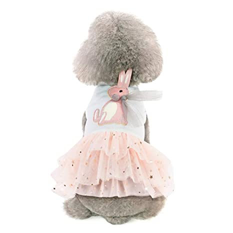 Balacoo Vestido de Perro Cachorro Conejo Princesa Tutú Falda Ropa ...