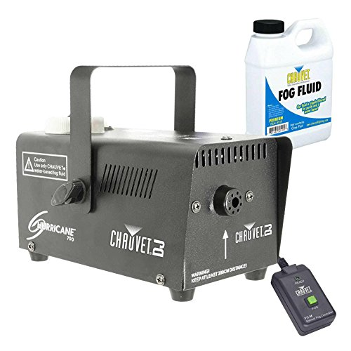 Chauvet H-700 Hurricane 700 Halloween Fog/Smoke Effect Machine + Fluid + Remote Top Selling Item from Unknown