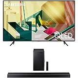 SAMSUNG 65-inch Class QLED Q70T Series - 4K UHD Dual LED Quantum HDR Smart TV with Alexa Built-in + HW-Q60T 5.1ch…