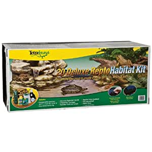 amazon   tetra usa sts20004 turtle deluxe kit for