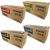 Kyocera TK5152 (TK-5152) 4-Color Toner Cartridge Set for M6035cidn, M6535cidn, P6035cdn