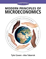 Modern Principles: Microeconomics, 3rd Edition Front Cover