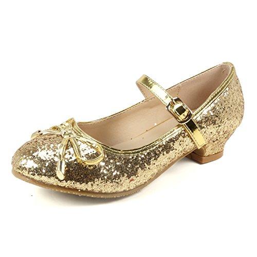 Nova Utopia Girls Low-Medium Platform Sandal Shoes NF