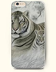 OOFIT iPhone 6 Case ( 4.7 Inches ) - Mother Tiger and its Son