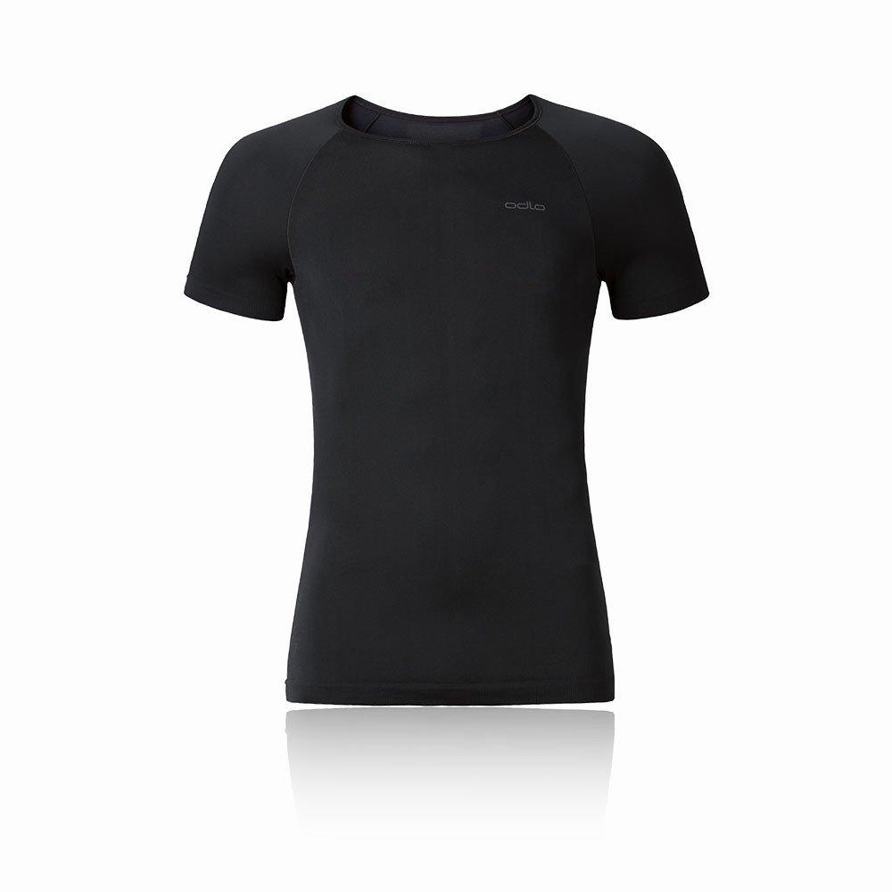 Odlo Shirt S/S Girocollo Evolution X-Light Canottiera, Uomo, Shirt S/S Crew Neck Evolution X-Light, Black, XXL ODLOA|#Odlo 182042
