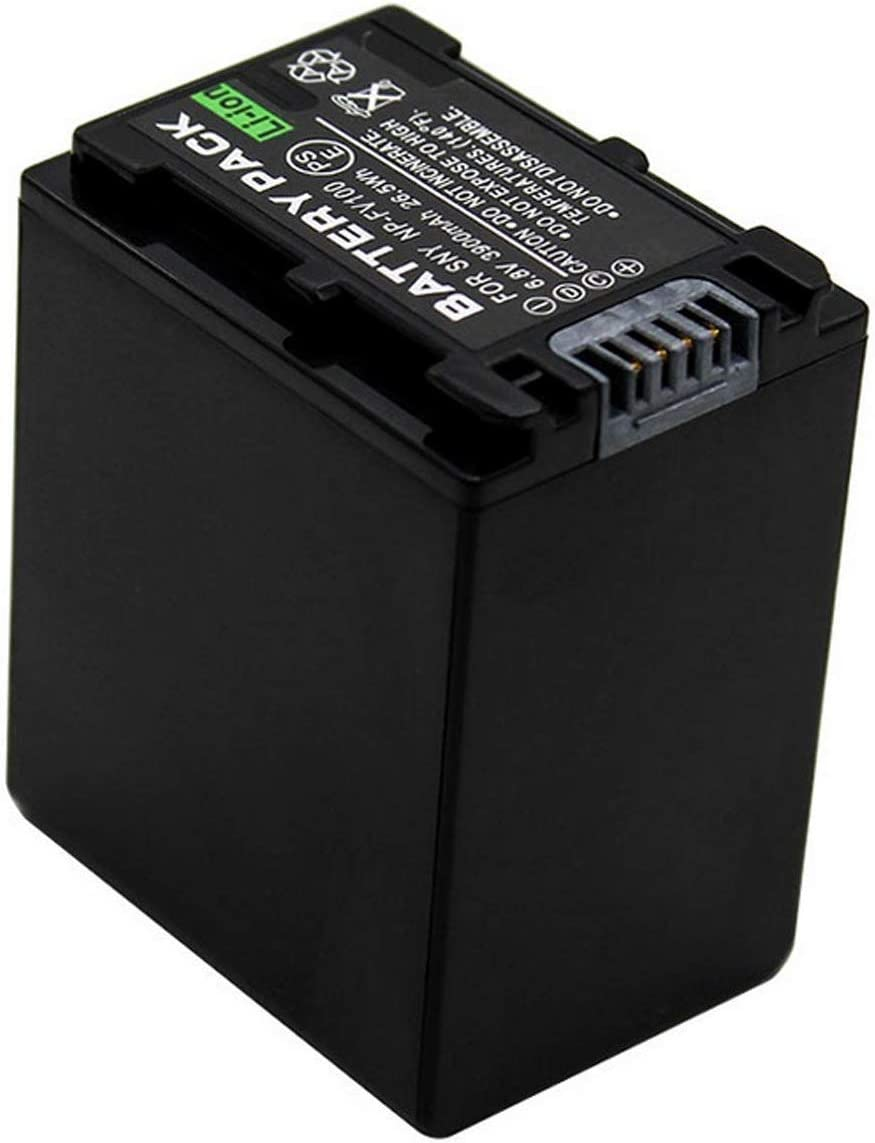 HDR-XR160E Handycam Camcorder HDR-XR155E Battery Pack for Sony HDR-XR150E