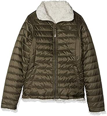The North Face Kids TNF Chaqueta Reversible Mossbud Swirl, Niñas, New Taupe Green, M: Amazon.es: Deportes y aire libre