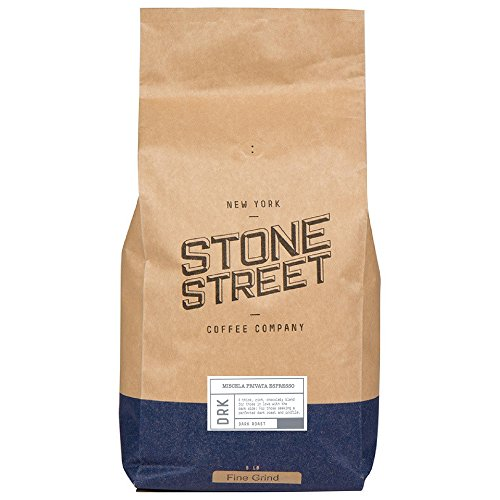 MISCELA PRIVATA Traditional Italian Style Espresso | Fine Ground Coffee | Dark Roast | 5 LB Bulk Bag | Great Crema, Full-Body, Rich, & Balanced | Specialty Handcrafted 100% Arabica