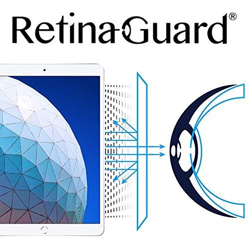 RetinaGuard Anti UV, Anti Blue Light Screen Protector for iPad Pro 10.5 Inch, SGS and Intertek Tested, Blocks Excessive Harmful Blue Light, Reduce Eye Fatigue and Eye Strain
